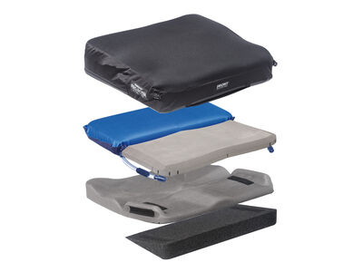 The ProForm NX is modifiable cushion ideal for wheelchair users with challenging, asymmetric skin protection, positioning and postural support requirements.