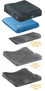 The Evolution Wave features an adjustable skin protection cushion with a solid positioning base. Available in three styles.